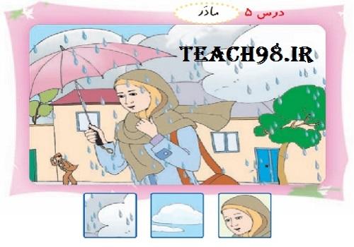 آموزش نشانه ر-فارسی اول دبستان