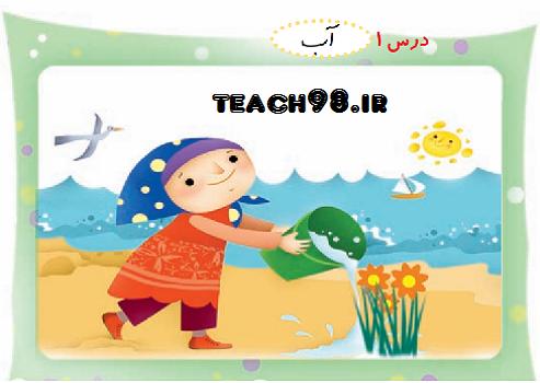 آموزش نشانه آ ا (الف)-فارسی اول ابتدایی